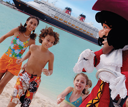 Pirate Cove.  Click to see where to use your Disney Gift Card.