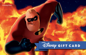 Blazing Mr. Incredible