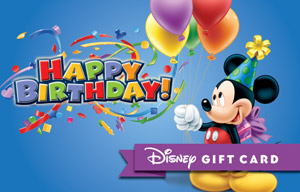Happy Birthday from Mickey